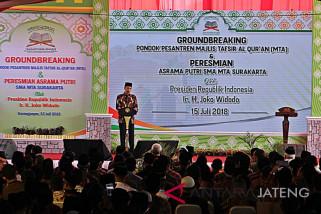 Presiden Jokowi ajak masyarakat terus merawat