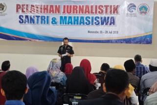 Mahasiswa dan santri di Wonosobo ikuti pelatihan jurnalistik