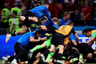 Federasi Kroasia pecat staf pelatih terkait video