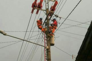 PLN gerak cepat, pasokan listrik kembali normal