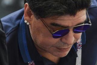 Diego Maradona sebagai bos Dynamo Brest