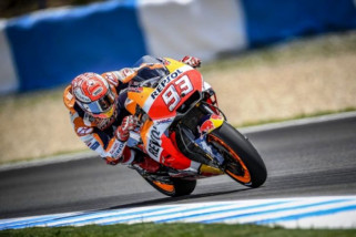 Marquez juara di MotoGP Belanda