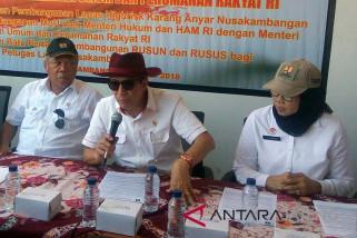Menkum HAM dan Menteri PUPR sepakat bina napi bersama (VIDEO)