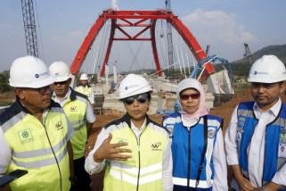 Menteri BUMN jalan tol Batang-Semarang