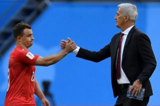 Tersingkir putaran 16 besar,  Petkovic tetap pelatih Swiss