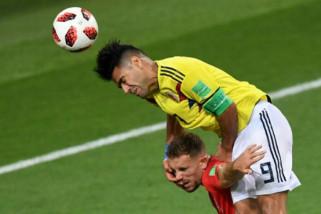 Inggris bungkam Kolombia lewat drama adu penalti