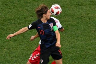 Modric raih Golden Ball, Courtois kiper terbaik Piala Dunia 2018