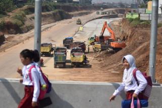 Pembangunan jalan tol Semarang-Batang