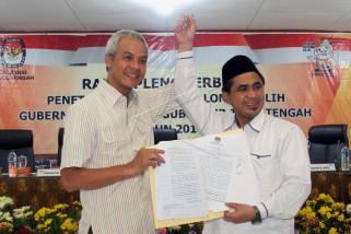 Penetapan pasangan calon terpilih gubernur dan wakil gubernur Jateng