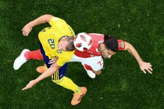 Tekuk Swiss 1-0, Swedia melenggang ke perempat final