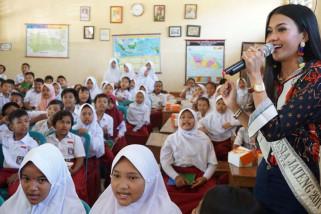 Gandeng Finalis Putri Indonesia, PLN kenalkan lingkungan ke siswa SD