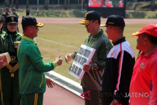 Kostrad juara umum Pekan Olahraga Angkatan Darat