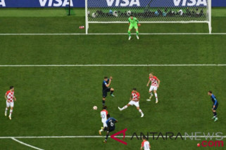 Sikat Kroasia 4-2, Prancis juara Piala Dunia 2018