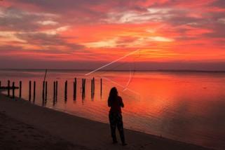Senja di Pantai Laendra Karimunjawa