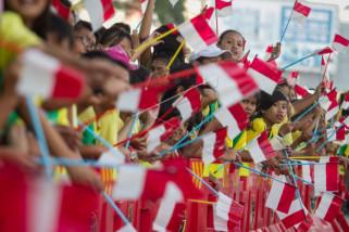 Pawai obor Asian Games 2018