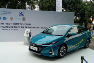 Ini enam universitas penerima mobil listrik dari Toyota