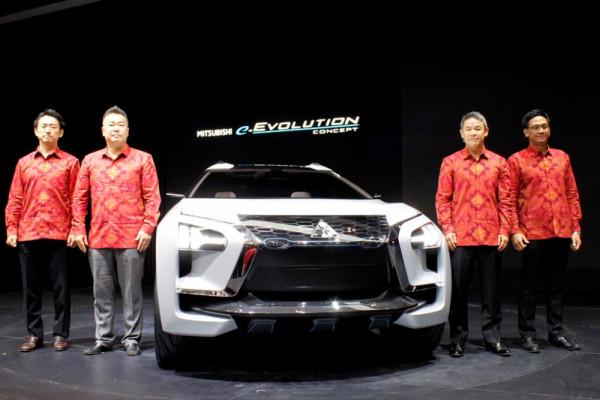 Xpander baru dipamerkan di GIIAS, juga mobil listrik e-Evolution
