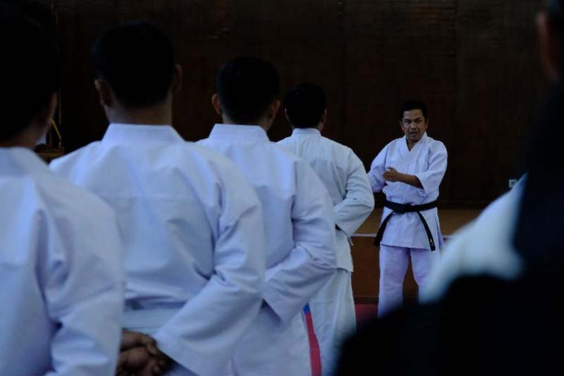 Bea Cukai bentuk karakter pegawai melalui Karate