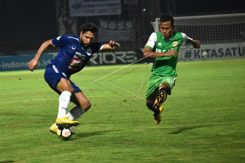 Bhayangkara FC mengalahkan PSIS