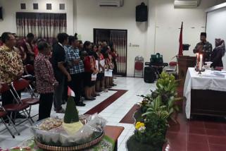 Umat beragama Kota Magelang syukuran HUT RI
