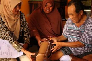 Biar mandiri, penyandang disabilitas Magelang dapat bantuan kaki palsu