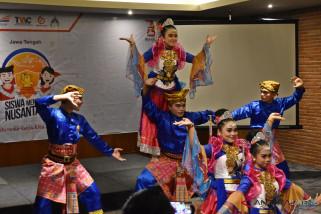 BUMN Hadir - Pelajar Jateng-Kalbar saling kenalkan budaya