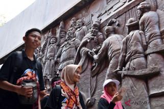 Peserta SMN belajar multikulturalisme masyarakat Jateng