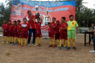 SSB Putra Welahan juara Liga U-11