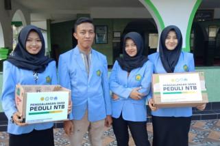Mahasiswa Polbangtan Magelang gelar aksi untuk korban gempa NTB