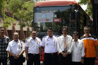 Pemberangkatan Trans Semarang Koridor VI pindah ke Unnes