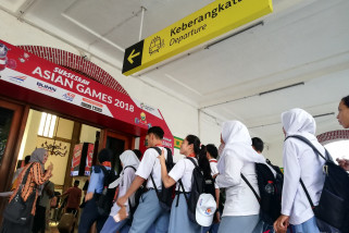 BUMN Hadir- Peserta SMN impikan Kalimantan ada kereta api