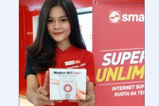 Smartfren hadirkan modem WiFi merah putih
