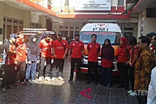 PMI Surakarta berangkatkan 11 sukarelawan ke Lombok