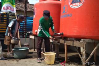 630.000 liter air disalurkan BPBD Banjarnegara selama kemarau
