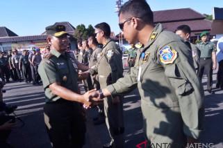TNI-Polri Jateng kirim bantuan untuk korban gempa Lombok