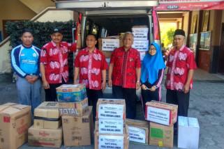 SMK Swadaya Temanggung kirim bantuan ke korban gempa Lombok