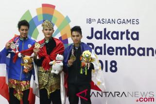 Prabowo bangga dengan perolehan emas cabang pencak silat
