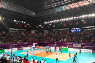 Bola voli putri Indonesia capai target menang atas Filipina