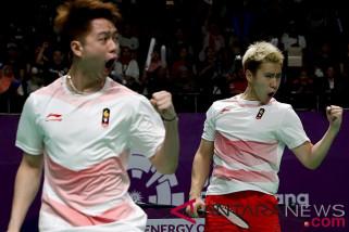 Marcus/Kevin melenggang ke semifinal bulu tangkis Asian Games