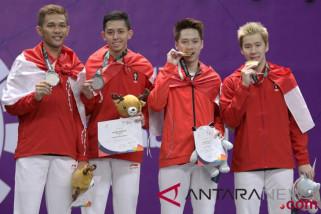 Perolehan Medali Asian Games sampai Selasa petang