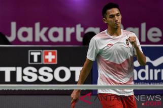 Tunggal putra Jonatan Christie tantang Chou Tien Chen di final