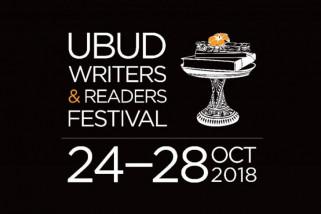 Ubud Writers & Readers Festival 2018 diikuti 30 negara