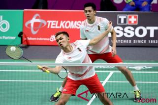 Kalahkan Malaysia, Fajar/Rian ke semifinal batminton