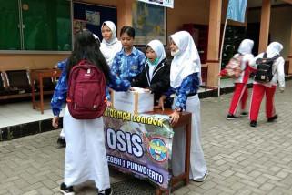 Pelajar Banyumas galang dana peduli gempa Lombok
