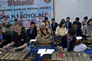 Delegasi mancanegara Festival Gamelan Internasional kunjungi Boyolali