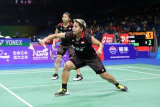 Libas pasangan Malaysia, Greysia/Apriani lolos ke perempat final Kejuaraan dunia