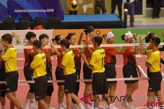Sepak takraw putri Indonesia raih kemenangan pertama dari Jepang