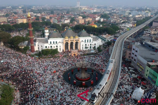 Kontingen berbagai negara rayakan Idul Adha di Pelembang