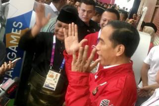 Jokowi Respons Pernyataan Prabowo soal Kebebasan Berpendapat