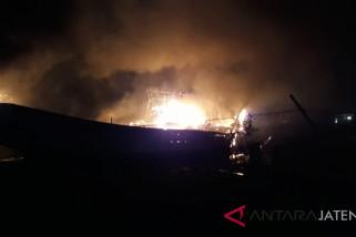 Kapal nelayan Juwana Pati kembali terbakar